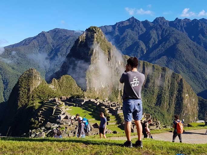 Machu Picchu Shot