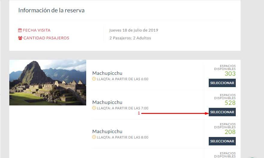 reservation du billet machu picchu en ligne